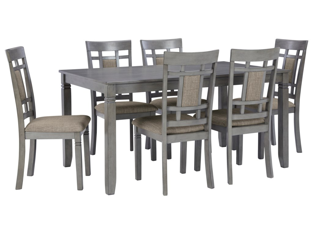 Signature Design by Ashley Jayemyer7-Piece Dining Table and Chairs Set
