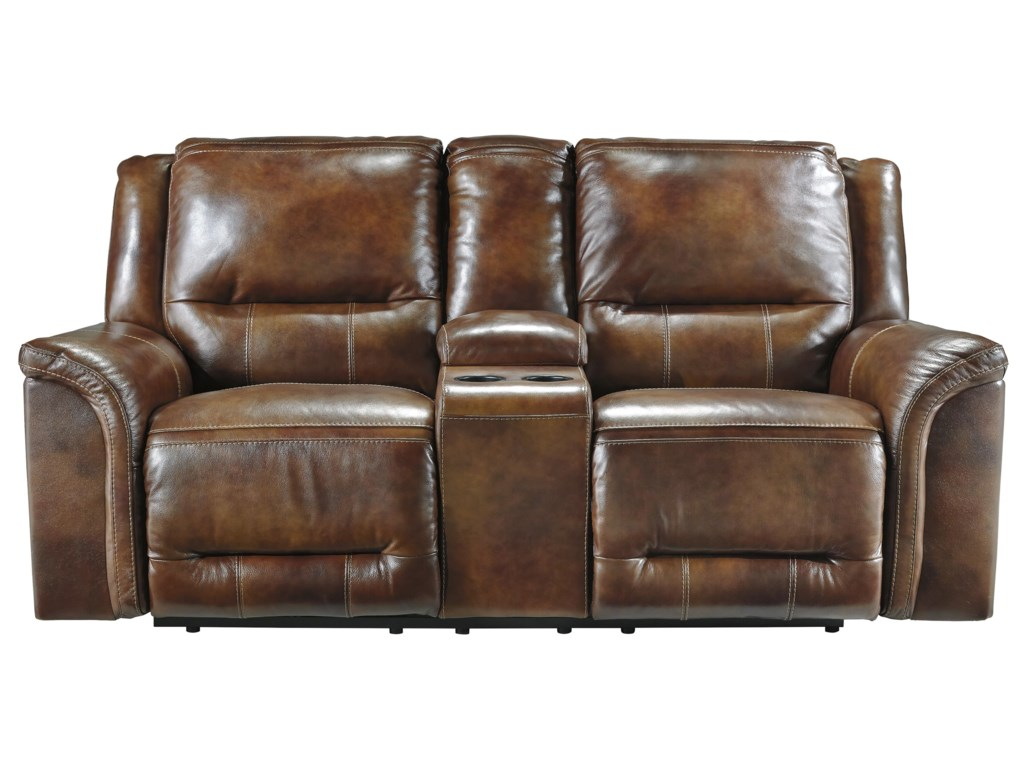 Signature Design by Ashley JayronDouble Reclining Loveseat w/ Console