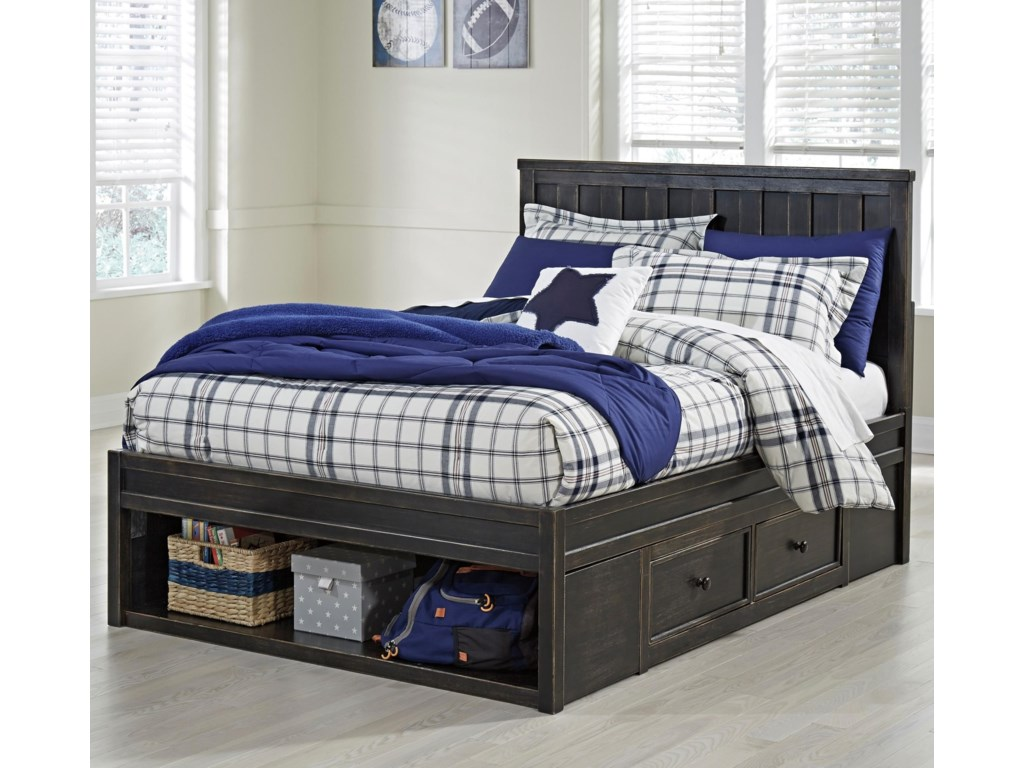 Full Size Bed Shown