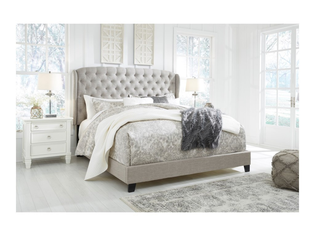 Signature Design by Ashley JeraryKing Upholstered Bed