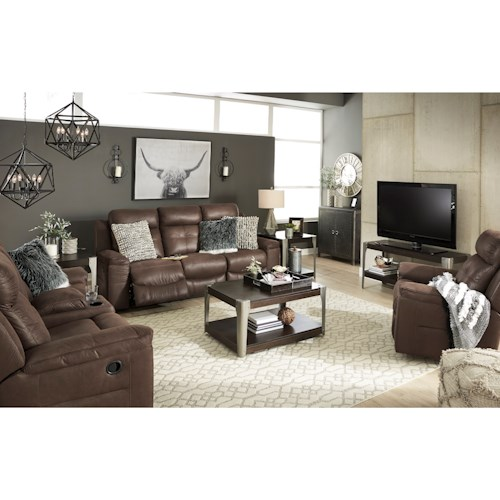 Signature Design by Ashley Jesolo Reclining Living Room Group