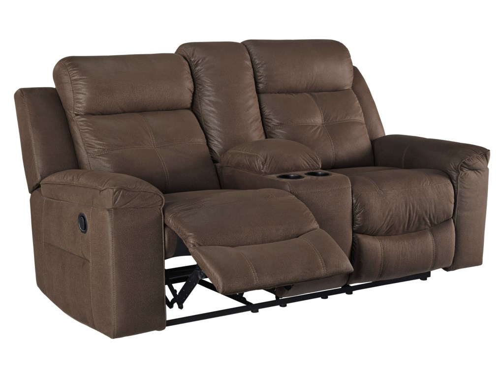 Signature Design by Ashley JesoloDouble Reclining Loveseat with Console