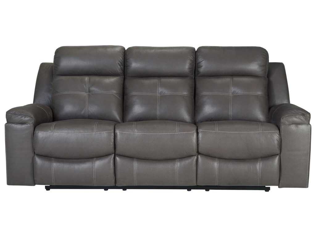 Jesolo Contemporary Reclining Sofa by Signature Design by Ashley at John V  Schultz Furniture