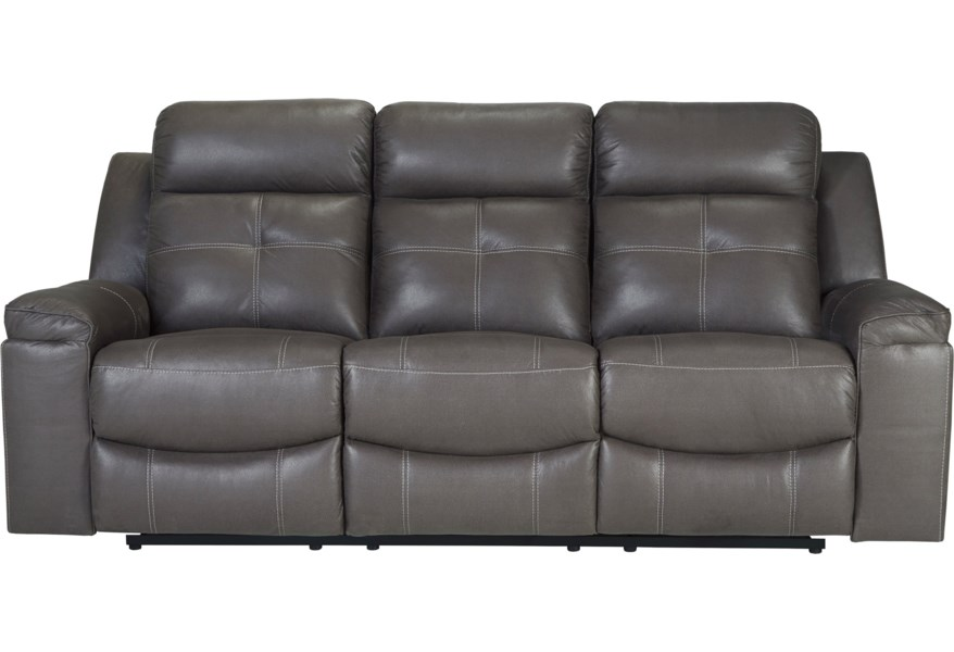 Jesolo Contemporary Reclining Sofa by Signature Design by Ashley at Darvin  Furniture