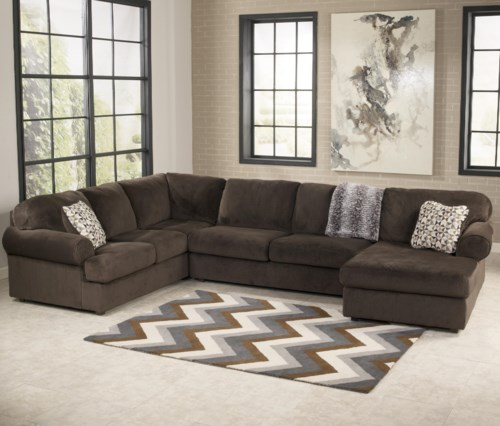 Sofa design outlet  StyleLine Fozzy Casual Sectional Sofa with Right Chaise - EFO ...