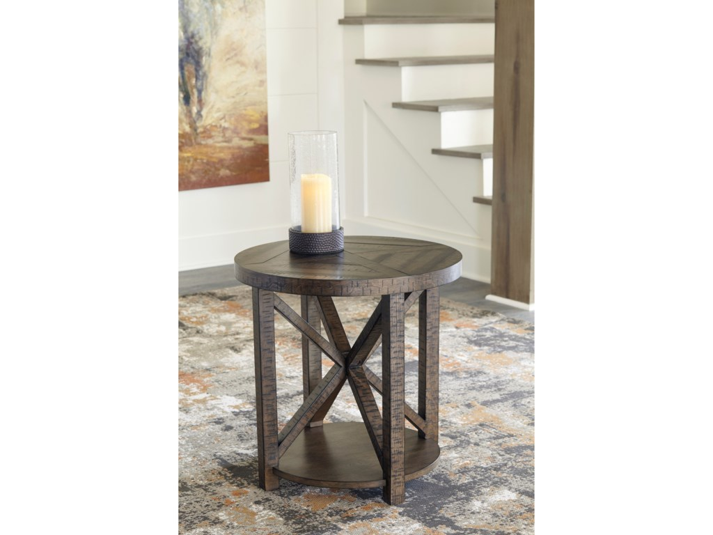 Signature Design by Ashley JessoliRound End Table