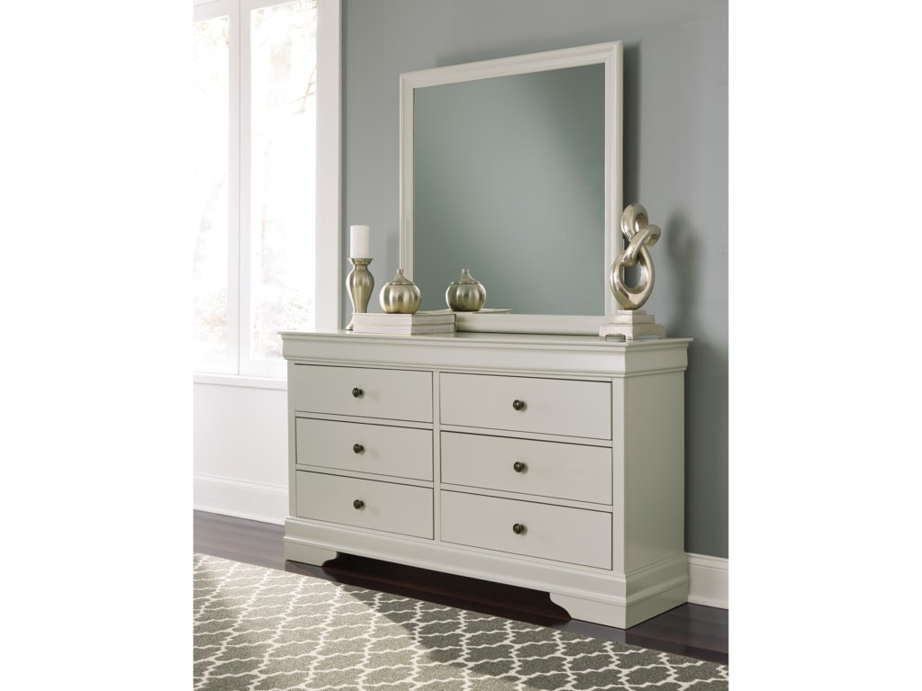 Signature Design by Ashley JorstadDresser and Mirror Set