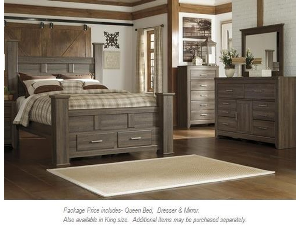 Signature Design by Ashley Juararo3PC Queen Bedroom