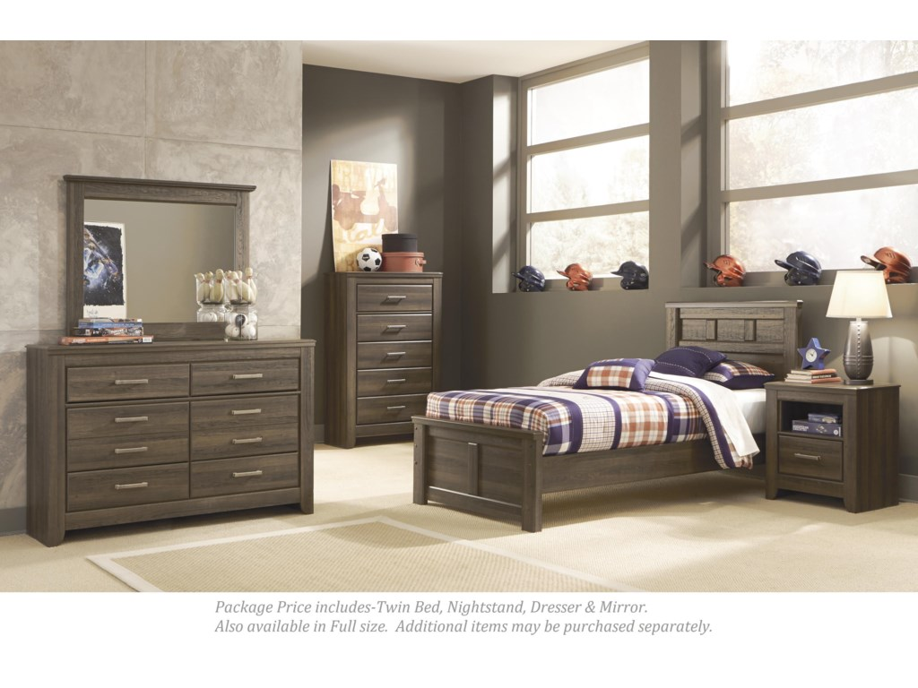 Signature Design by Ashley Juararo4-PC Twin Bedroom