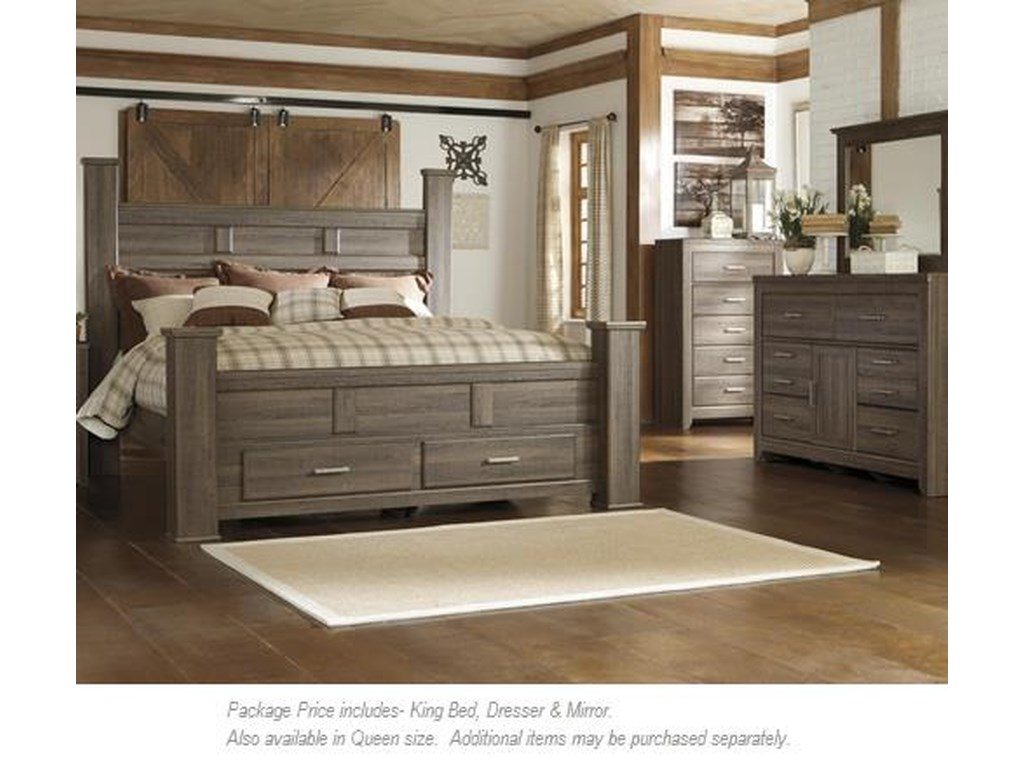 Signature Design by Ashley Juararo3PC King Bedroom