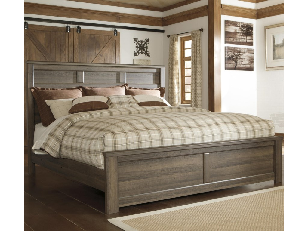 Signature Design by Ashley JuararoKing Panel Bed