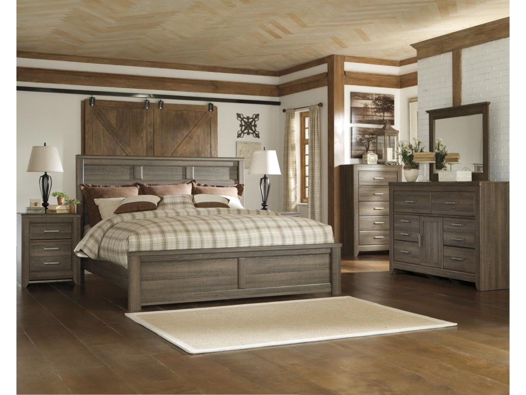 Signature Design by Ashley RemmyCalifornia King Panel Bed