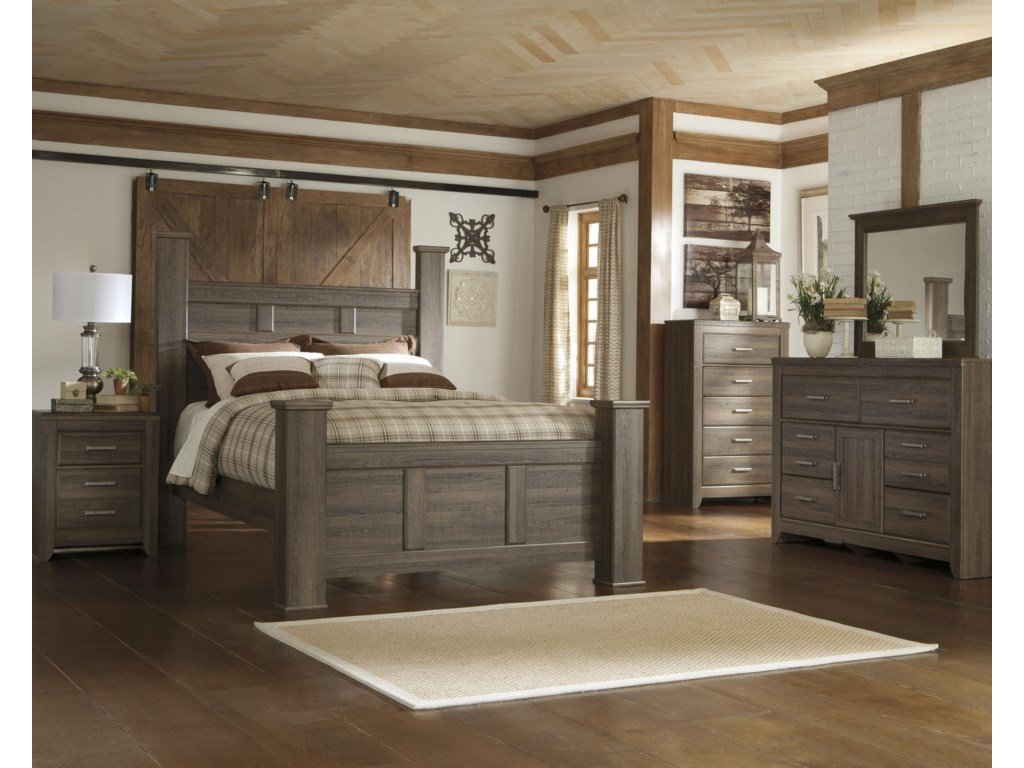Signature Design by Ashley JuararoQueen Poster Bed