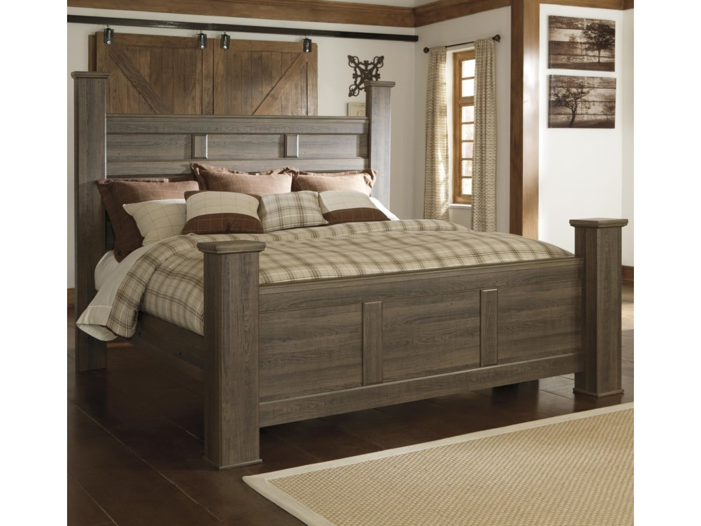 Signature Design by Ashley JuararoCalifornia King Poster Bed
