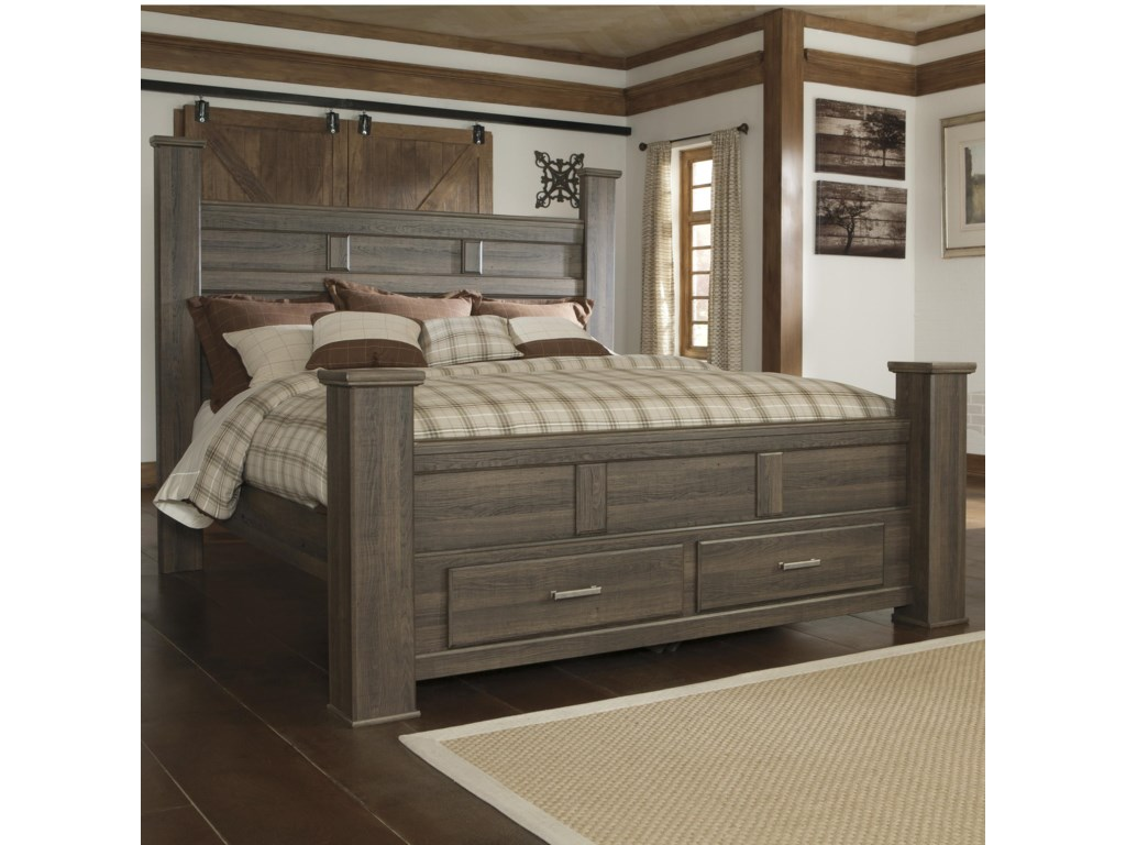 Signature Design by Ashley JuararoKing Poster Bed