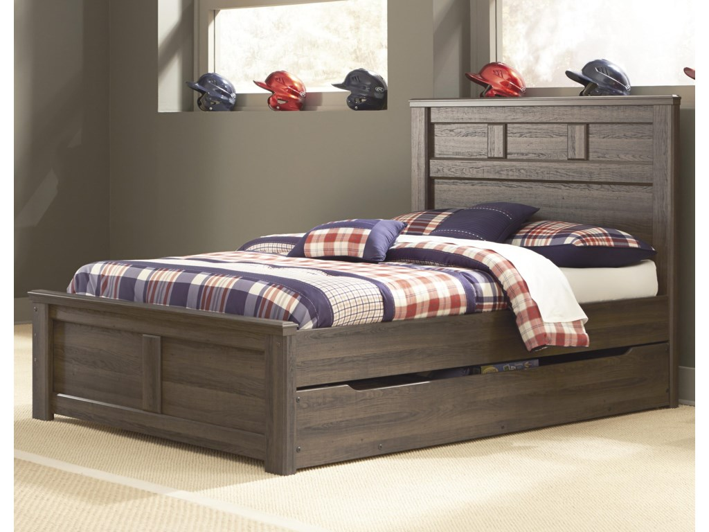 Signature Design By Ashley Junofull Panel Bed W Under Storage