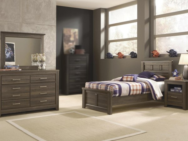 4PC Twin Bedroom Set