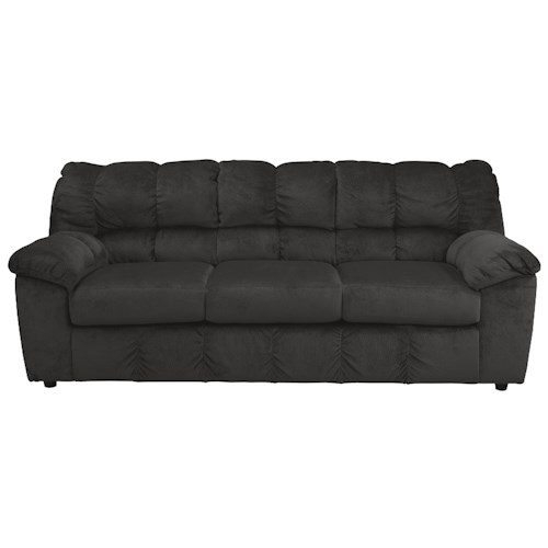 Signature Design by Ashley Julson - Ebony Casual Contemporary Sofa