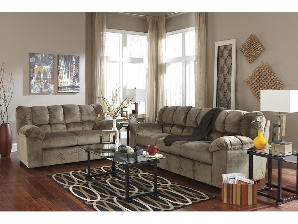 Signature Design by Ashley Julson - DuneStationary Living Room Group