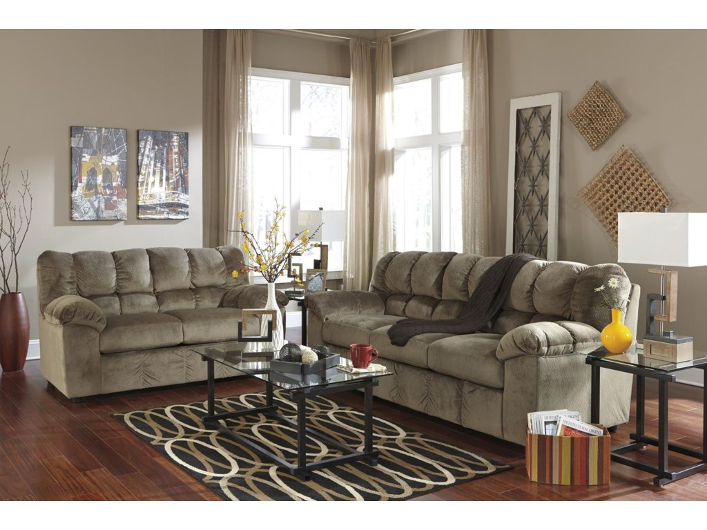 Signature Design by Ashley Julson - DuneStationary Living Room Group