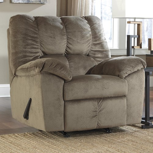 Signature Design by Ashley Julson - Dune Casual Contemporary Rocker Recliner