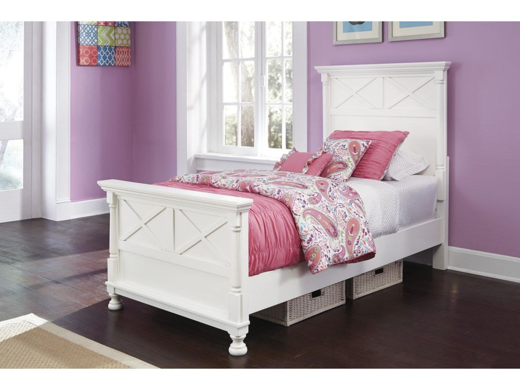 Signature Design by Ashley KaslynTwin Panel Bed