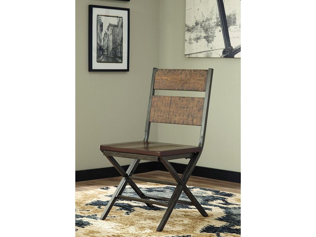 Signature Design by Ashley Kavara4-Piece Rectangular Table Set with Bench