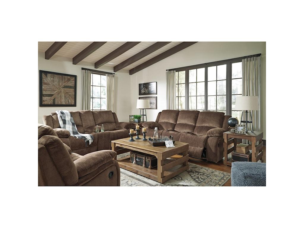 Signature Design by Ashley KatnissReclining Power Sofa