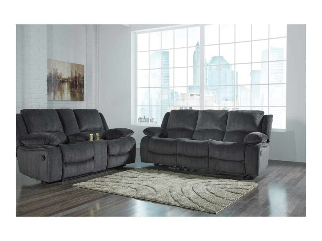 Signature Design by Ashley Kellerhause Reclining Living Room Group ...