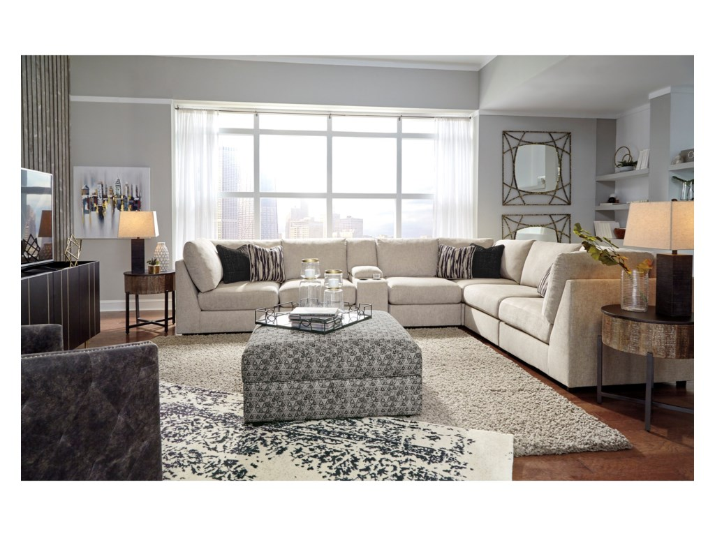 Signature Design by Ashley Kellway7-Piece Sectional