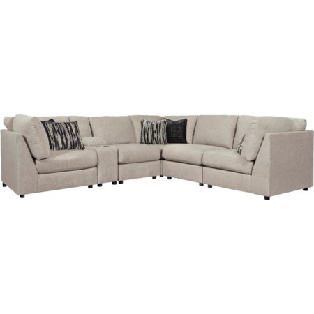 6-Piece Sectional Sofa