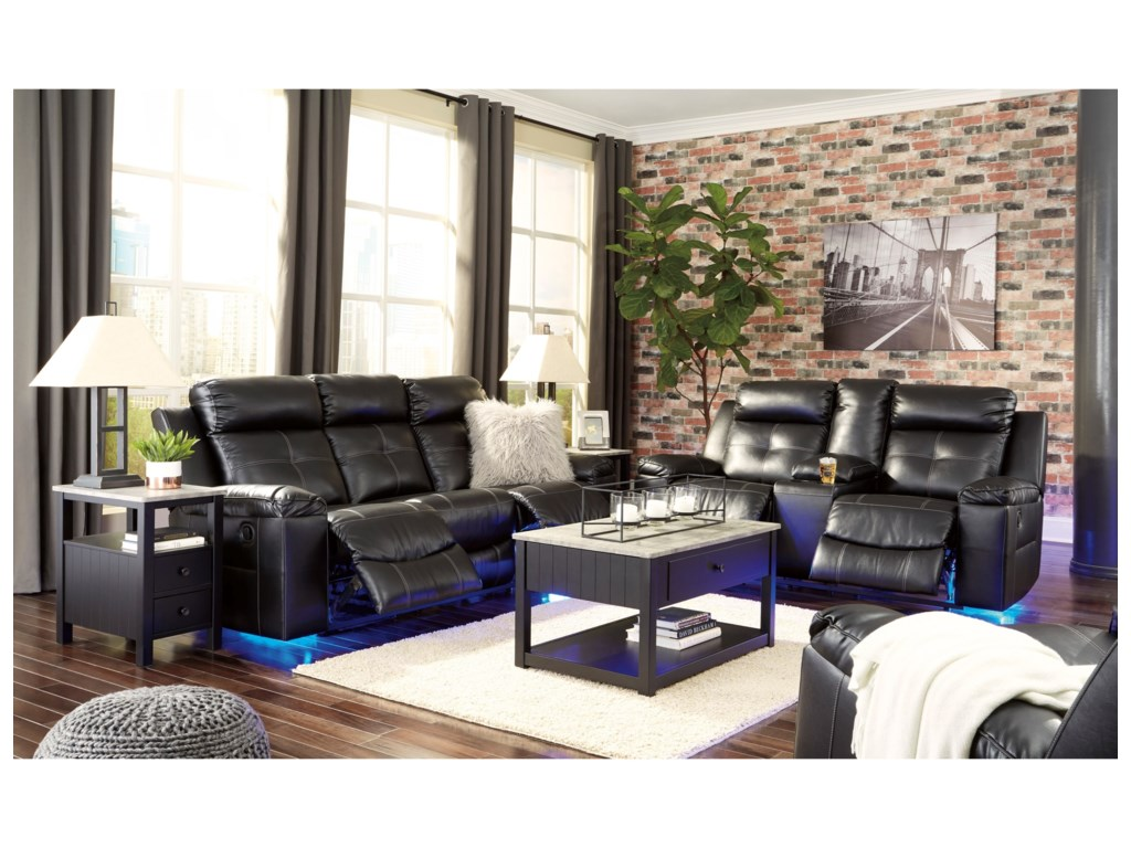 Signature Design by Ashley KemptenReclining Living Room Group