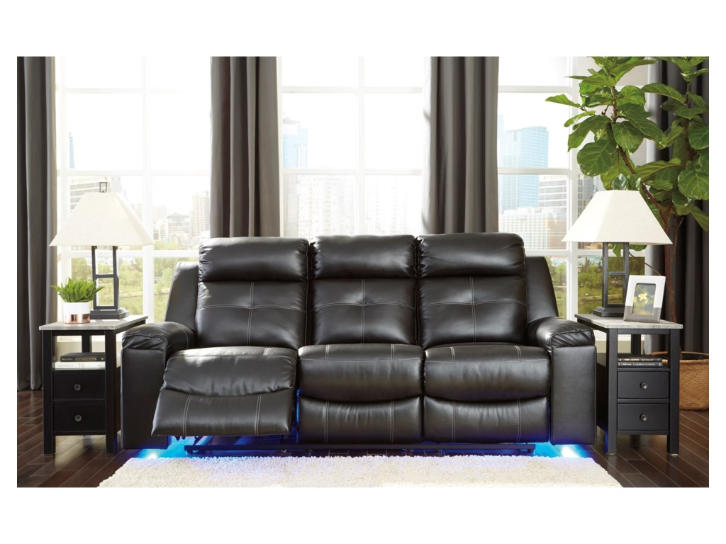 Signature Design by Ashley KemptenReclining Sofa