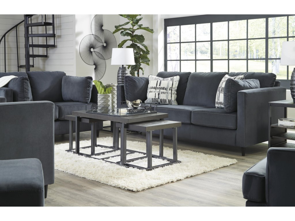 Signature Design by Ashley KennewickSofa, Loveseat, Accent Chair and Ottoman Set