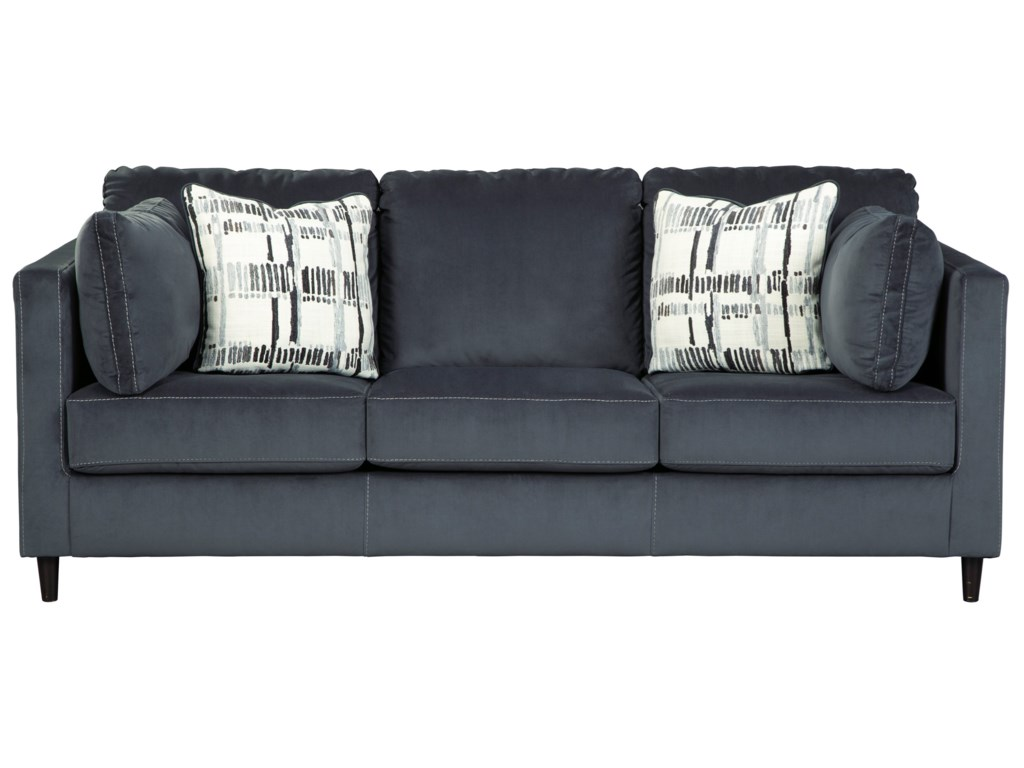 Kennewick Contemporary Sofa by Ashley Signature Design at Rooms and Rest
