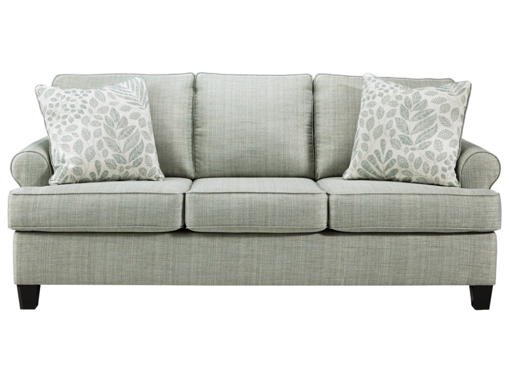 Kilarney Transitional Queen Sofa Sleeper by Signature Design by Ashley at  Household Furniture