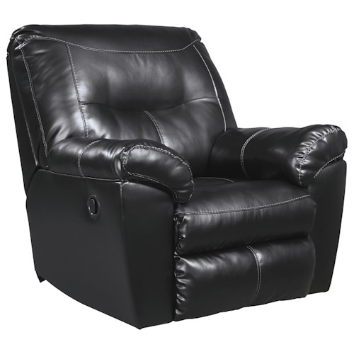 Signature Design by Ashley Kilzer DuraBlend® Contemporary Rocker Recliner