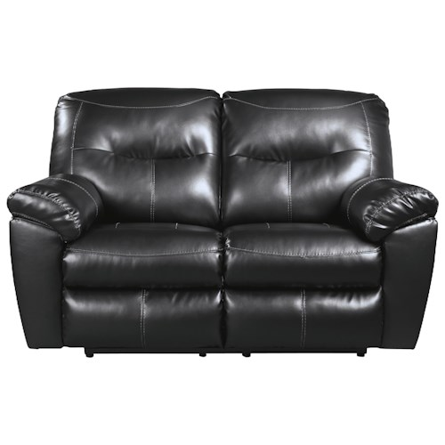 Signature Design by Ashley Kilzer DuraBlend® Contemporary Reclining Loveseat