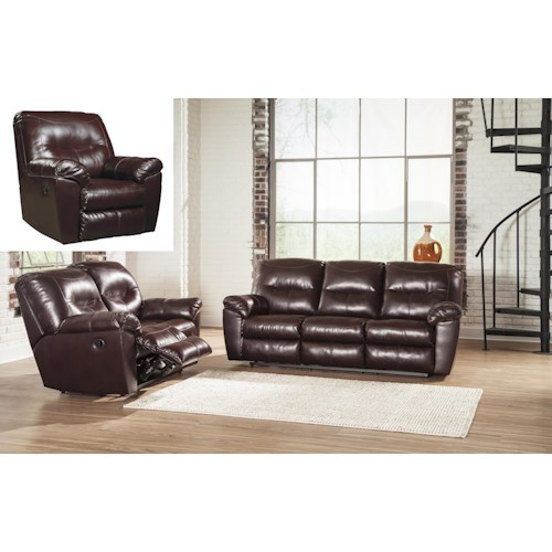 Signature Design by Ashley Kilzer DuraBlend® Reclining Living Room Group