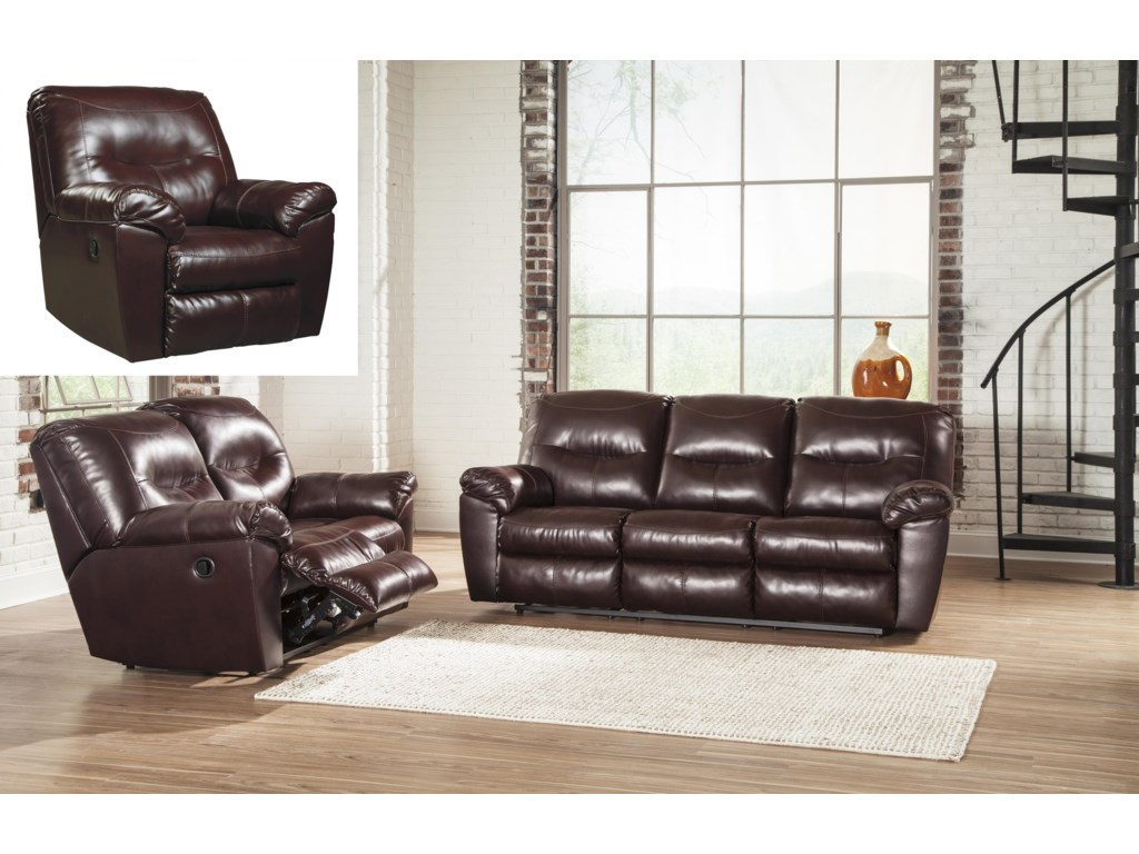 Signature Design by Ashley Kilzer DuraBlend®Reclining Living Room Group