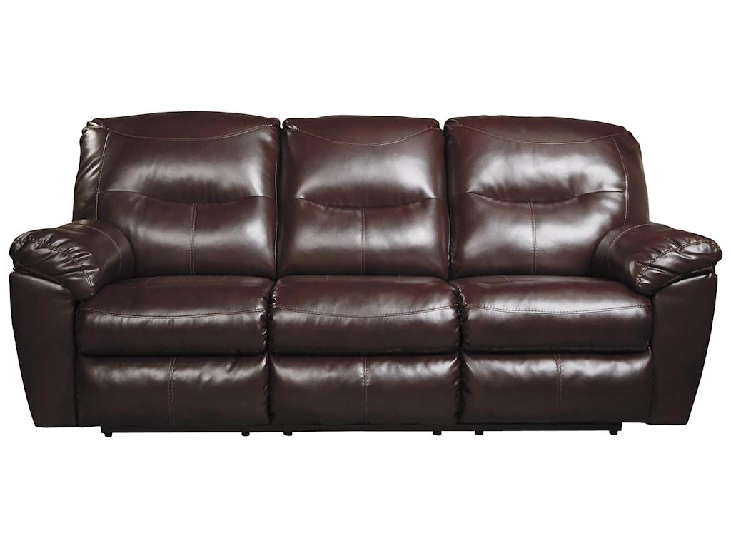 signature design by ashley kilzer durablend® contemporary  - signature design by ashley kilzer durablend® contemporary reclining sofa royal furniture  reclining sofa