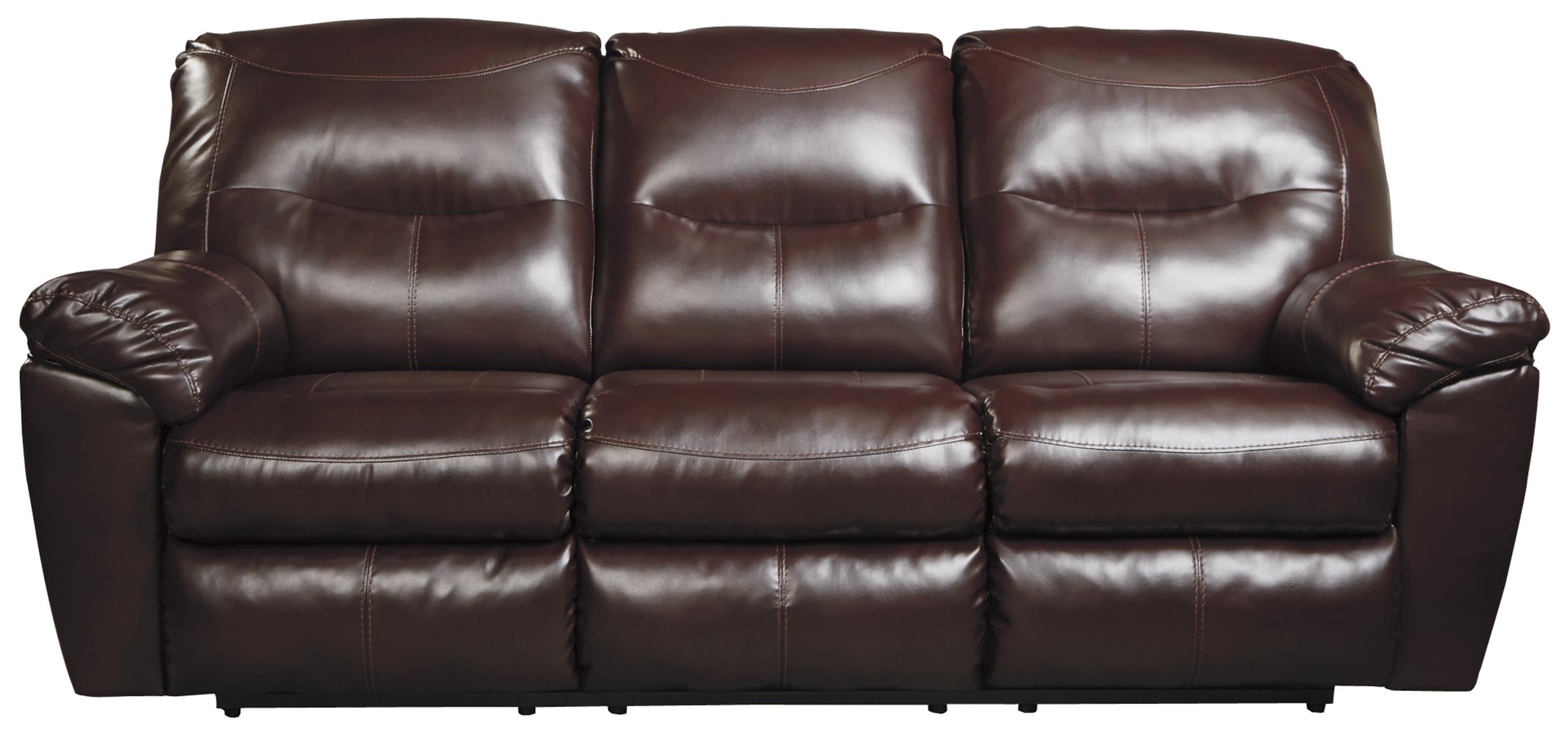 Signature Design By Ashley Kilzer DuraBlend® Contemporary Reclining Sofa    Royal Furniture   Reclining Sofa Part 66