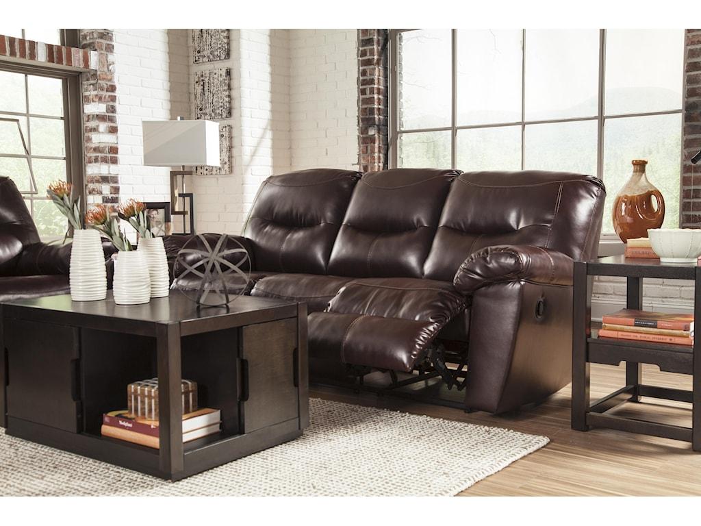 Signature Design by Ashley Kilzer DuraBlend®Reclining Sofa
