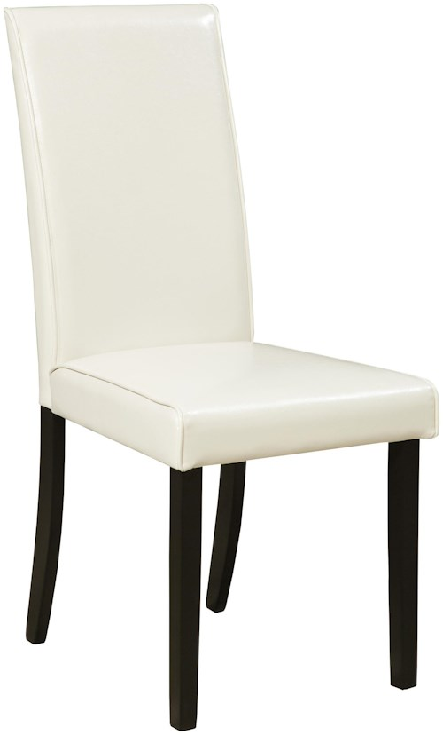 Signature Design by Ashley Kimonte Dining Upholstered Side Chair - Ivory
