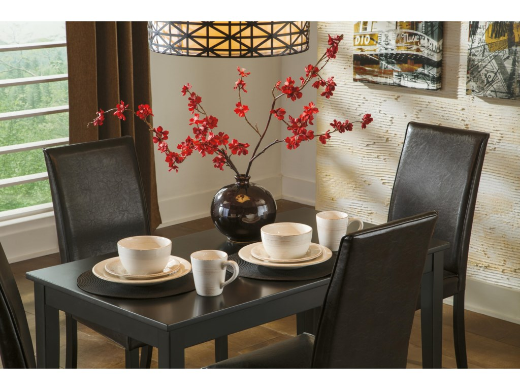 Signature Design by Ashley Kimonte5-Piece Rectangular Table Set