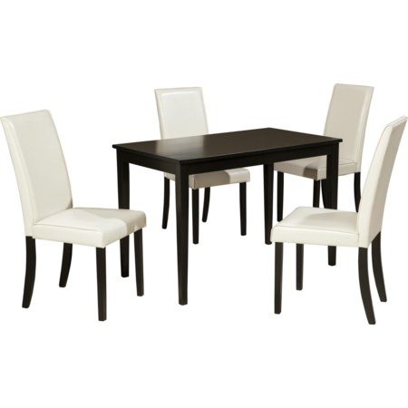 5-Piece Rectangular Table Set