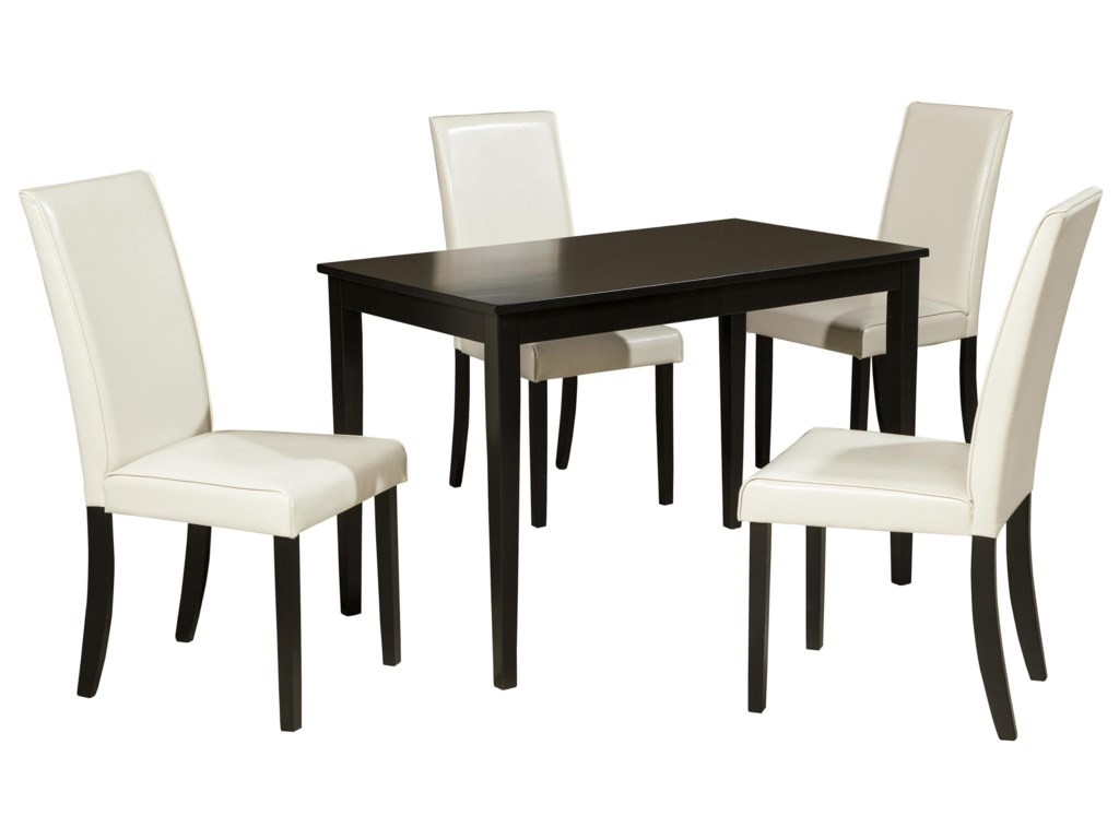 Ashley (Signature Design) Kimonte5-Piece Rectangular Table Set