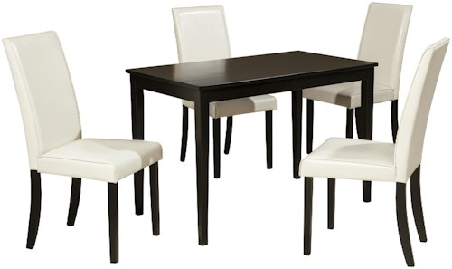 Signature design by ashley kimonte d250 25 4x01 5 piece for Furniture 0 percent financing