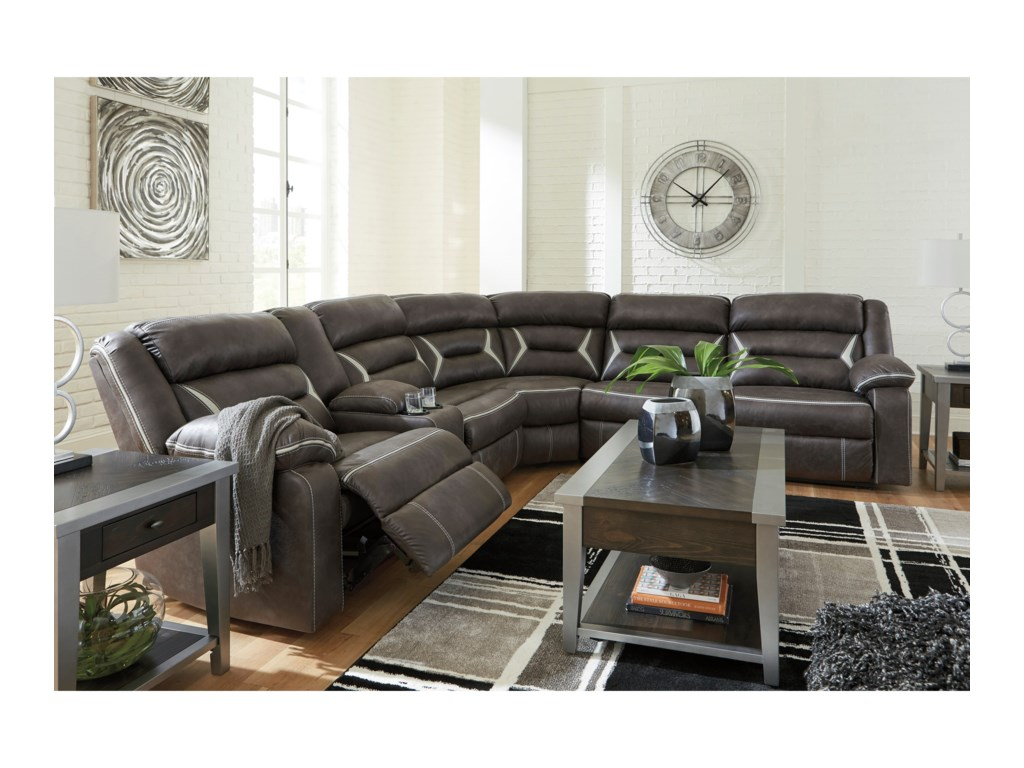 Signature Design by Ashley KincordPower Reclining Sectional