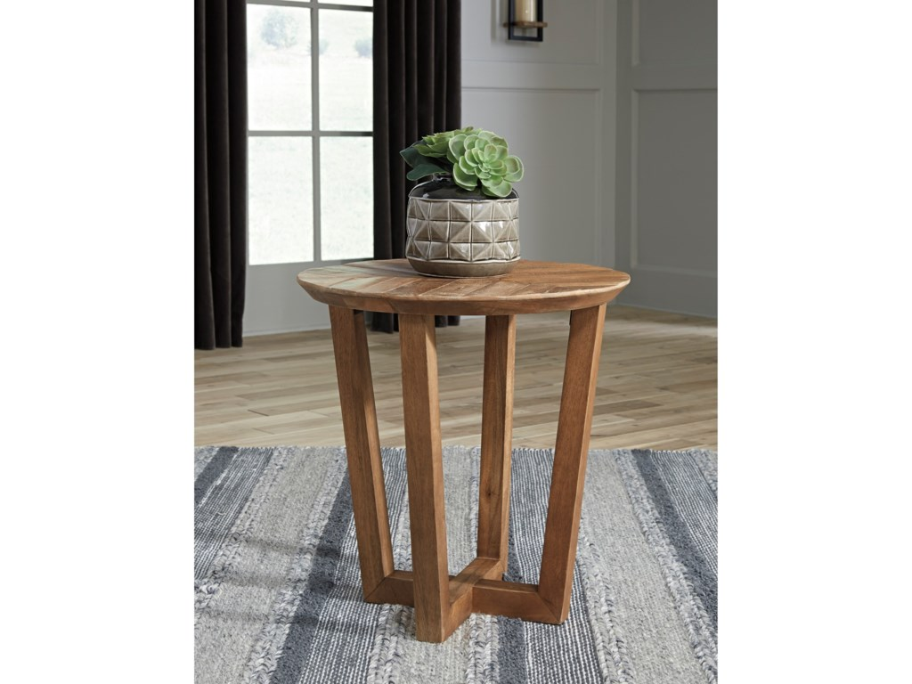 Signature Design by Ashley KinnsheeRound End Table